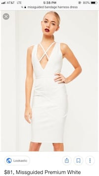 White Bandage dress Washington, 20018