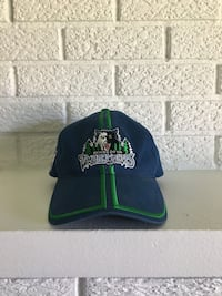 Retro MN Timberwolves Hat Bloomington, 55437