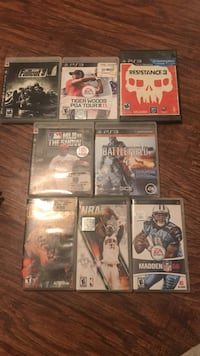 PS3 games (5) psp games (3)