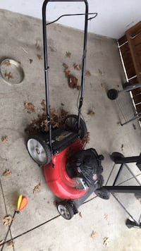 red and black push mower Whitehall, 43227