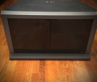 TV STAND WITH TWO BOTTOM SHELVINGS New York, 11230