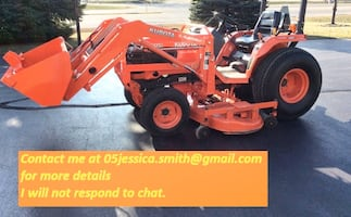 2OO1 Tractor Kubota Loader B2710HST 4x4 3rd function hyd on loader. Perfect for lawn maintenance, hunting/food plots, and gardens!