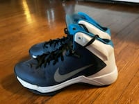 "NIKE- ""Hyperquickness""- /Youth Shoes-(Like New 646 mi"