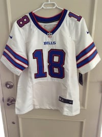 Buffalo Bills game jersey size 44. Never worn still with tags