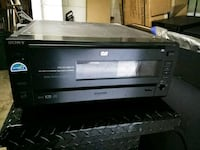 black Sony DVD player San Jose, 95112