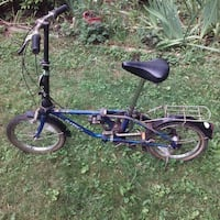 black and purple BMX bike Middletown
