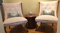 2 Queen Anne cherry wood chairs Silver Spring, 20901