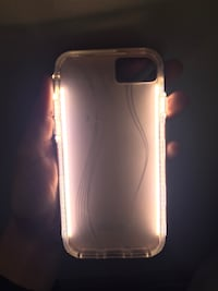 clear iPhone light-up selfie case Cambridge, N1S 5B9