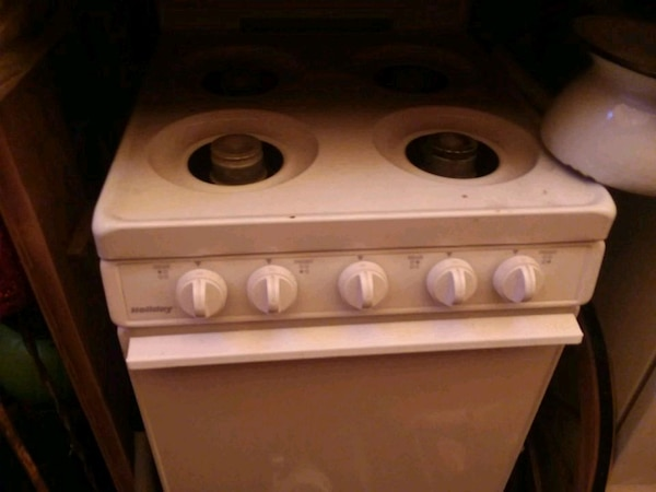 Small stove top and oven