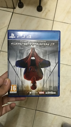 Sony PS4 The Amazing Spider-man 2 game case