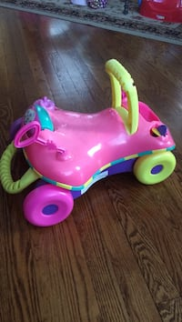 Toddler's ride-on toy