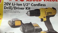 New hardware sale items ie. Cleaning supplies (& hOMe cleaners) Tools/ DeWalt cordless drill box Vancouver, V6E 1M5