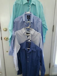 Mens dress shirts with collars Size medium or see  Gaithersburg, 20878