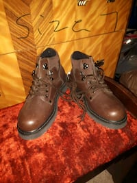 Brown steel toe shoes Calgary, T2A 5S6