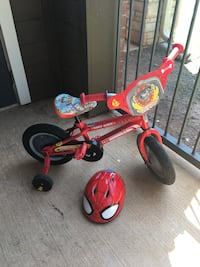 Toddler's red and white trike Oklahoma City, 73142
