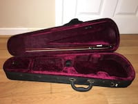 Brown violin with bow and case (this price because of the case) the violin is in perfect condition. I use to perform with it. Falls Church, 22041