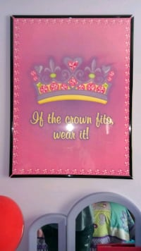If The Crown Fits Framed Print Plainfield, 60586