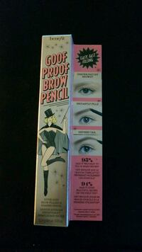Benefit goof proof brow pencil - 3 Fairfax, 22031