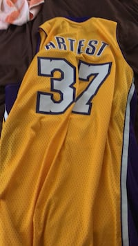 Lakers jersey Ron artest classic Los Angeles, 91605