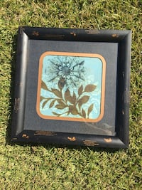 black and white floral wooden photo frame Sumrall, 39482