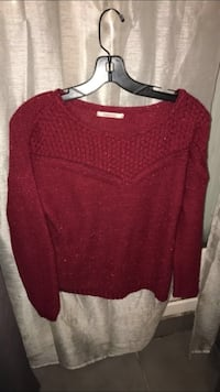 Boule rouge Pull col Troyes, 10000