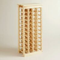44-Bottle wooden wine rack San Mateo, 94402