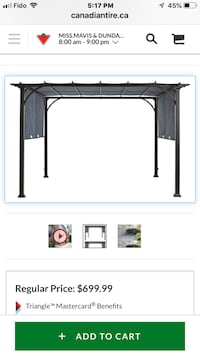Gazebo (outdoor) Mississauga, L5J 1P8