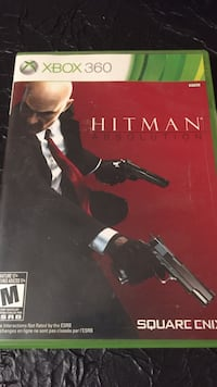 Xbox 360 Hitman Absolution case Guelph, N1G 2Y8