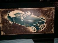 Car Picture painted on Canvass Woodbridge, 22192