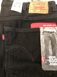 Men's New 40 x 30 Levi's 550 Relaxed Jeans  Lowellville, 44436