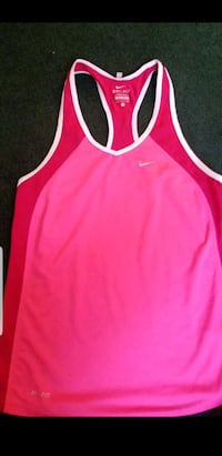pink and white Adidas tank top San Antonio, 78249