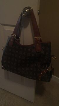 brown and black Louis Vuitton leather tote bag Winnipeg, R2G 3Z8