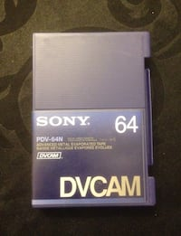 2 K7 neuves DVCAM Sony 64 Chevilly-Larue, 94550