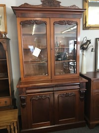 Gorgeous Bookcase or China Cabinet  London