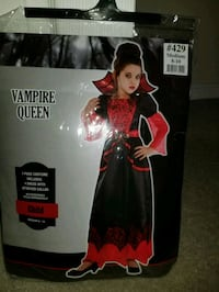 Kid/Girl costume - Vampire Queen Frederick, 21704