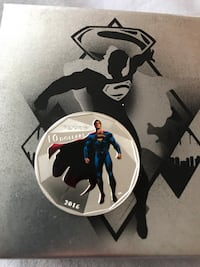 Superman Silver Coin with Box  Toronto, M8X
