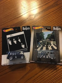Beatles Hot Wheels vehicle's!