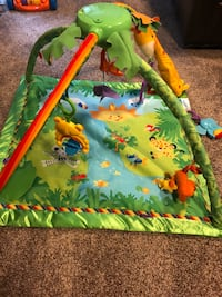 Fisher Price Rainforest Baby Mat and Gym Burke