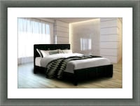 Twin platform bed free mattress and delivery