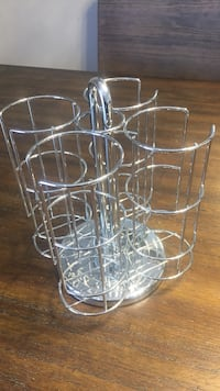 Stainless steel wire cup rack Brampton, L6Z 3Z5