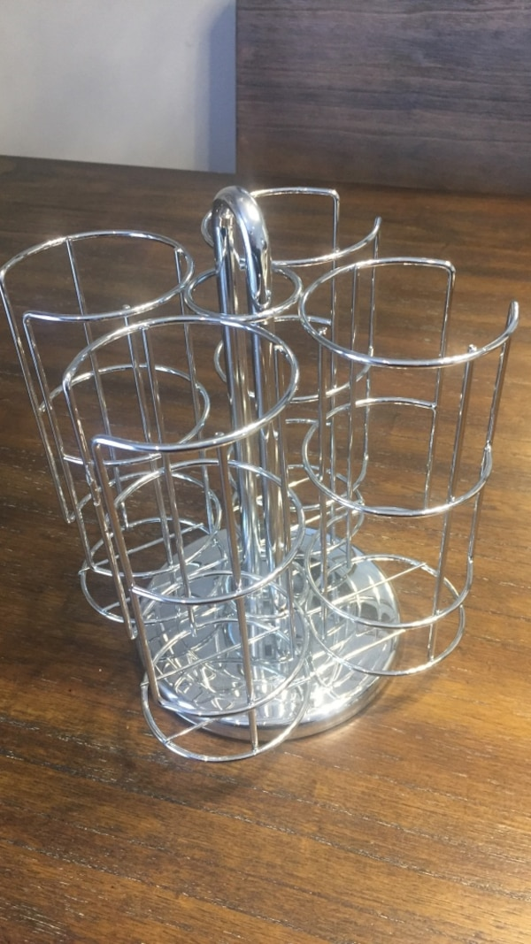 Stainless steel wire cup rack