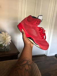 Red Suede 5's  Charlotte, 28227