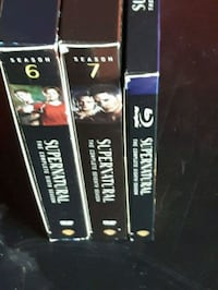 Season 6&7 supernatural dvds Halifax, B3P 1H3