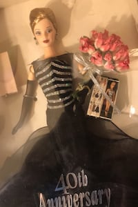 40th anniversary Barbie Antique