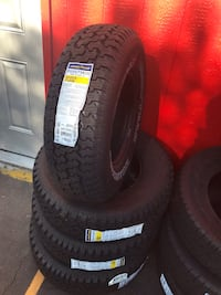 Set 235/75/15 GOODYEAR WRANGLER Radial brand new $440 including installation and balance  Cypress, 90630