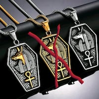 Brand new stainless steel necklaces Oklahoma City, 73103