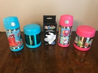 Thermos sets with new straws  Brownsville, 78526