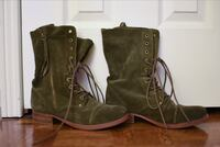 Women's Army Green ALDO boots Vaughan