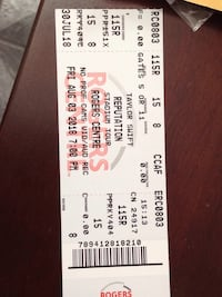 TONIGHT! 4 Taylor Swift tickets seated beside each other Toronto