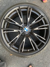 "BMW M3 20"" alloys and tires all 4 like new. Elkridge, 21075"